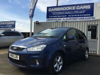 2010 10 FORD C-MAX 1.6 - 80,000 MILES FSH - 12 MONTHS MOT - SERVICED -WARRANTY
