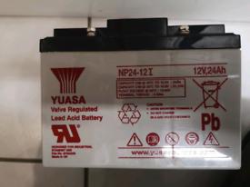 Yuasa Rechargeable Battery 24Ah