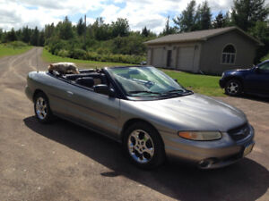 1998 Chrysler Sebring limited Convertible florida car