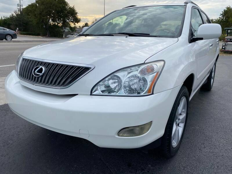 2007 Lexus RX 350 SUV One-Owner Leather Sunroof Loaded Runs Great Florida Owned
