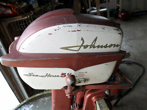 1958 Johnson 5-1/2 HP Outboard Belleville Belleville Area image 2