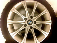 17 INCH RIMS and TIRES, BMW 5 SERIE ,%85 TREAD Watch|Share |Prin