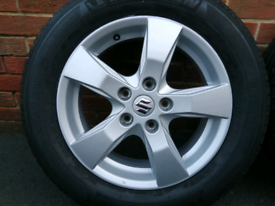 SUZUKI SX4 ALLOY WHEEL WITH MITCHELIN TYRE IMMACULATE