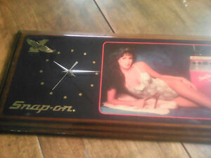 snap on clock