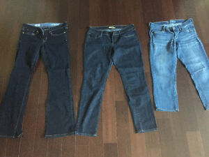 Gap and Old Navy Jeans- size 6