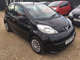 PEUGEOT 107 1.0 URBAN 5DR 2008 IDEAL FIRST CAR CHEAP INSURANCE LOW MILEAGE