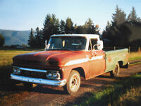 1966 GMC Truck (photo before rebuild) with 327ci Engine