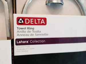 Delta towel ring tesla collection x 2 Yukon image 3