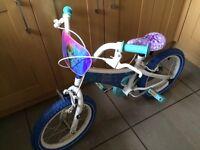 Brand new genuine Disney frozen bike.