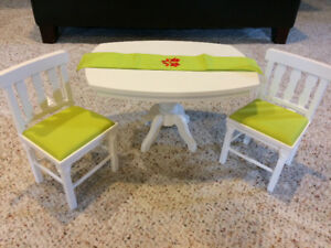 American girl table and chairs