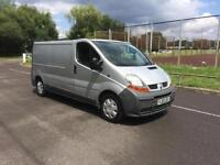 Renault Trafic 1.9TD LL29dCi long wheel base COMPLETE WITH WARRANTY AND M.O.T