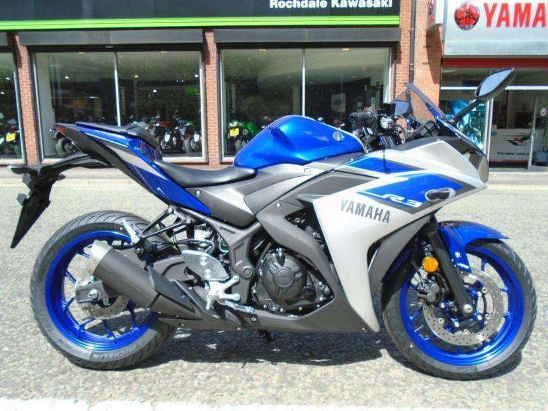 2015 15 reg yamaha yzf r3 80 miles from new in rochdale for Yamaha r3 mpg