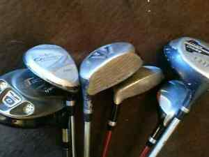Exc. Condition Top of Line Assorted Golf Clubs