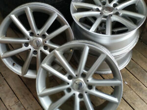 17' rims 5*120 and 5*112