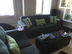 Light Blue Couch and Love Seat $400 o.b.o.