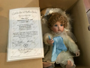 8 Ashton Drake Collectible Porcelain Dolls for Sale