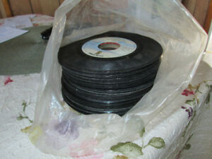 BAG OF 45 RECORDS