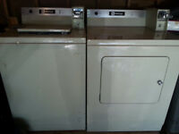 Maytag coin operated washer & dryer