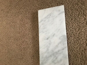 36 Inch Solid Marble Vanity Backsplash