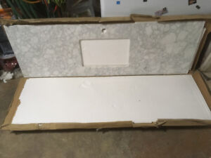 New stone countertop and undermount sink for sale