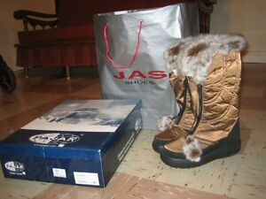 Brand New Pajar Tex Boots in  Bronze Colour--Beautiful! London Ontario image 7