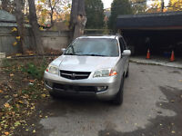 2002 Acura MDX SUV, New transmission
