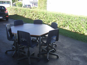 Awesome Break room Table's with Chair's ONLY $70