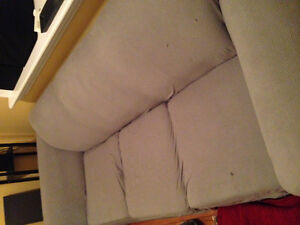 Couch with slip cover