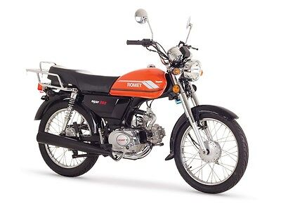 ROMET OGAR 50 Naked Bike 50ccm 4-Takt Motorrad 50 ccm Moped Mofa Roller NEU