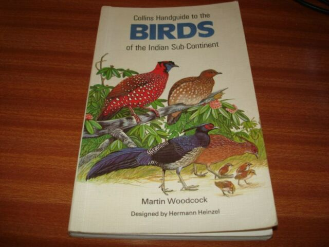 BIRDS OF THE INDIAN SUB-CONTINENT BY MARTIN WOODCOCK