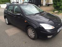 2002 1.6 FORD FOCUS 120k STARTS AND DRIVES FINE COMES WITH MOT