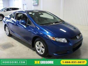 2013 Honda Civic LX Coupé A/C Gr-Électrique (Bluetooth)