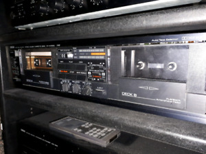Yamaha Natural Sound KX-W302U Double Cassette