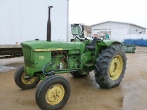 John Deere 50 hp Tractor with 3 Point Hitch