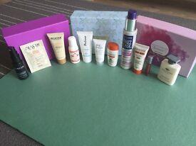 High end hair and beauty items Birchbox