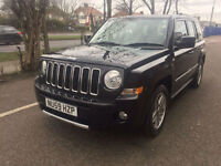 2010 Jeep Patriot 2.4 S-Limited 51,000 Miles Black