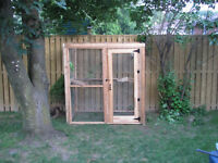 SOLD Walk-In Cage Used as Aviary