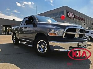 2012 Dodge Ram 1500 Quad  Cab 4X4 WELL SERVICED | LOWKM | LOADED