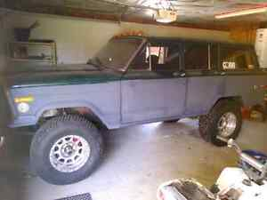 Mint 1979 jeep wagoneer