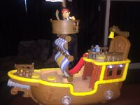 For sale Jake and the Neverland pirate boat £8