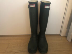 Hunter Boots - Size 9