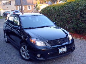 Toyota Matrix XRS FWD + mounted winter tires, 170 hp!