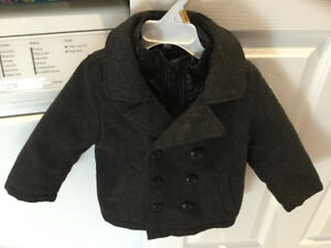 MEXX winter coat with hat 9-12 months $15