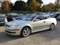 2005 SAAB 9-3 1.8 T VECTOR CONVERTIBLE MANUAL PETROL FULL SERVICE HISTORY ALLOYS