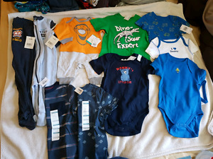 Boys NB-12 months all new with tags