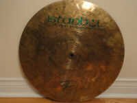 "Istanbul Agop 20"" Signature Flat Ride cymbal"