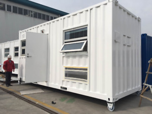 Gorgeous 20' Container Accomodation Unit ~ full 3 pc bathroom