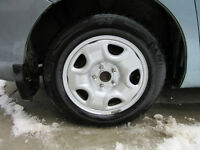 Michelin X-Ice Winter Tires and Alloy Rims