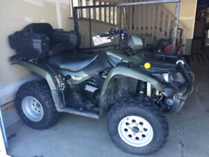 Suzuki quad for sale. Low mileage