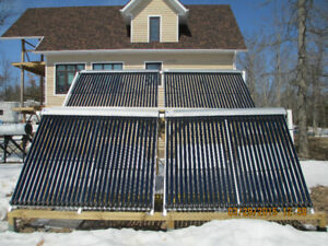SOLAR VACUUM 30 TUBE COLLECTORS